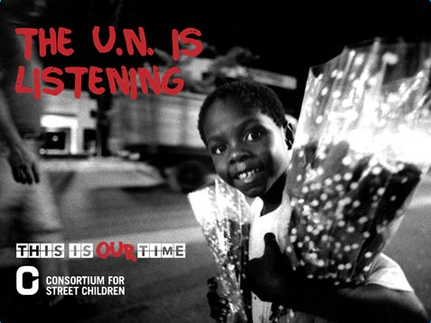 UN HAS PUBLISHED THE GENERAL COMMENT ON CHILDREN IN STREET SITUATIONS